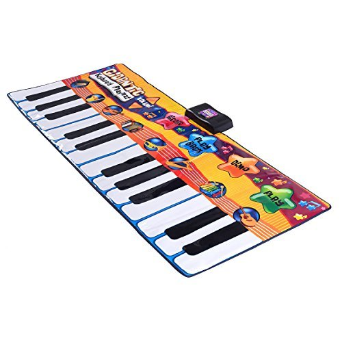 Piano Keyboard 24 Keys Playmat Dance Electric Gigantic Kids Musical Floor Game