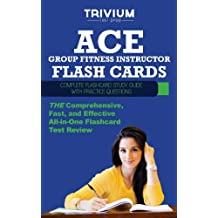 ACE Group Fitness Instructor Flash Cards: Complete Flash Card Study Guide with Practice Test Questions