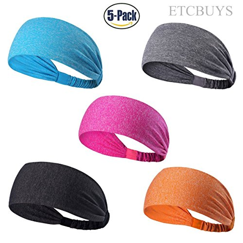 ETCBUYS Sports Fitness Headband - Athletic Women