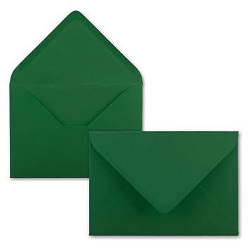 Briefumschläge 155 x 155 mm 25 Stück Dunkelgrün