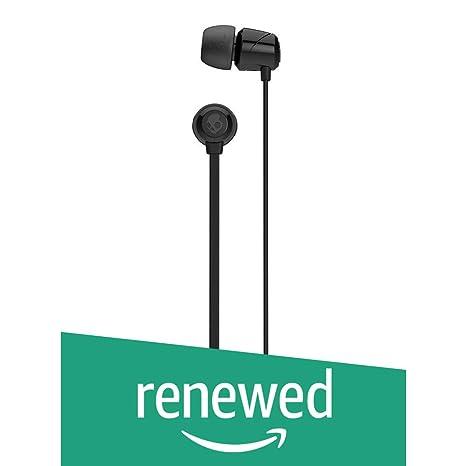 Renewed  Skullcandy JIB S2DUDZ 003 In Ear Headphone  Black  Headsets