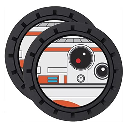 Amazon.com: Plasticolor Star Wars BB-8 - Posavasos (2 ...