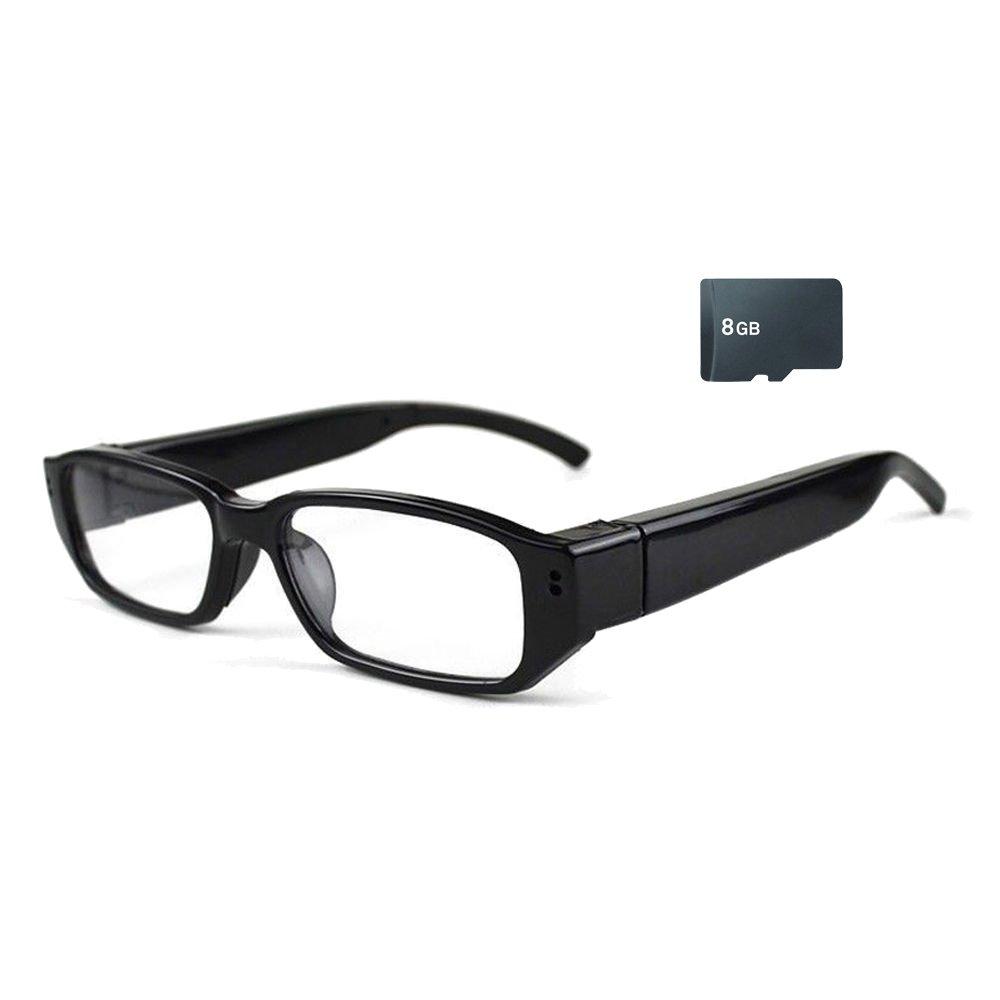Mengshen 8GB 720P HD Eyewear style espion caméra vidéo enregistreur vocal pour les activités de plein air MS-HC14C