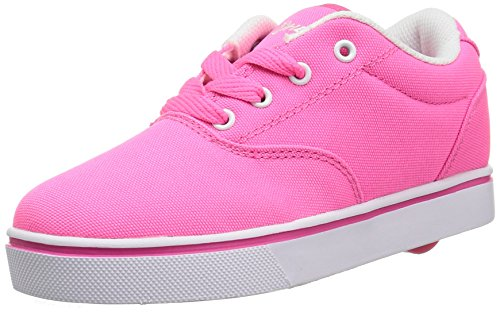 Heely S Skate Shoes - Heelys Launch Skate Shoe (Little Kid/Big Kid), Neon Pink/White, 3 M US Little Kid