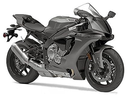 best website 4ad17 5bffb Amazon.com: Moto Onfire ABS Injection Grey Fairing Body Work ...