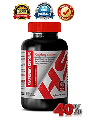 Raspberry ketones plus - RASPBERRY KETONES NATURAL FORMULA 1200 MG - maintain cardiovascular health (1 Bottle)