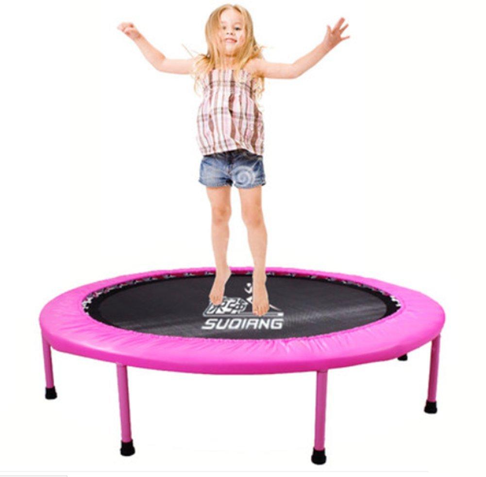 LIJUAN Trampoline Erwachsene Gymnastik Trampolin Hause Kinder Kinder Indoor Falten Auftrieb Gewichtsverlust Sprungbett