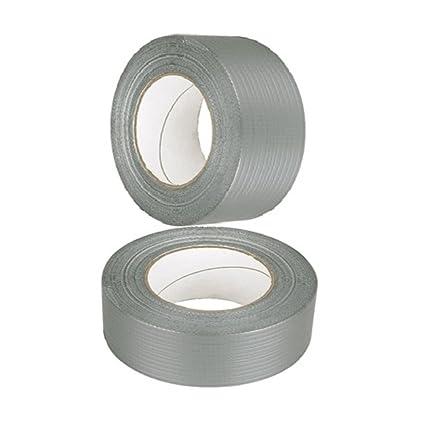 Duck Original Cloth Tape 50 Mesh Silver 50mm x 50m