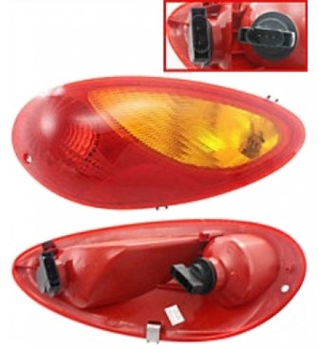 Discount Starter and Alternator CH2801145 Chrysler PT Cruiser Passenger Side Replacement Taillight Plastic Lens Without Bulbs (Starter 2001 Pt Cruiser compare prices)
