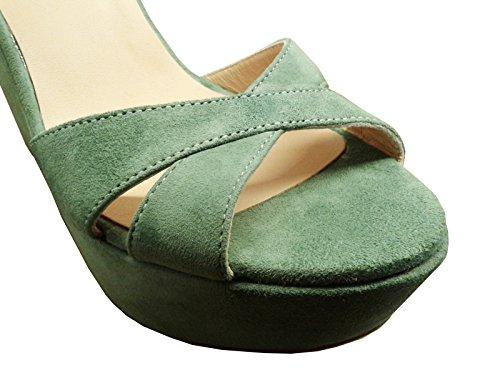 PEDRO 19227 Sandales EU vert MIRALLES pour femme 40 q51qr