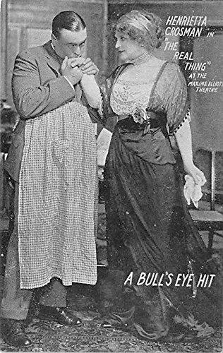 Theater Actor/Actress Old Vintage Antique Postcard Post Card, Postales, Postkaarten, Kartpostal, Cartes, Postkarte, Ansichtskarte Henrietta Crossman In The Real Thing, Maxine Elliott Theatre Unused