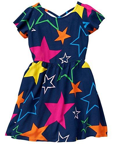 Crazy 8 - Vestido para niña con Estrellas pequeñas