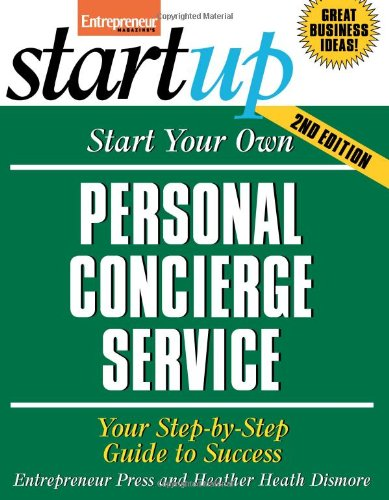 Magazine Service (Start Your Own Personal Concierge Service (Entrepreneur Magazine's Startup))