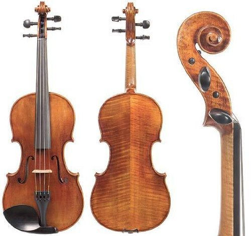 D Z Strad N201 Violin with bow and case [並行輸入品]   B07GTV5J91