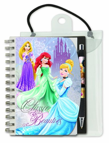 National Design Disney Princess Deluxe Autograph Book and Pen (12461A) by National Design