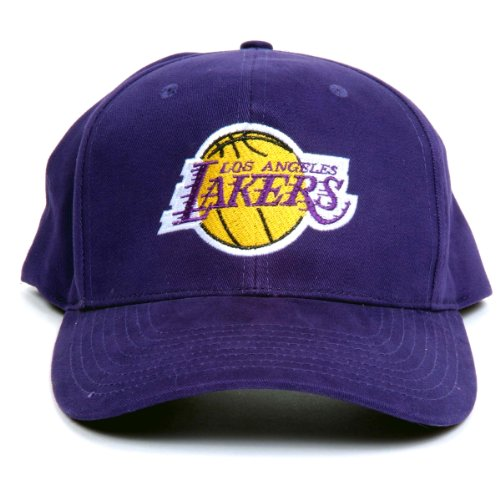NBA Los Angeles Lakers LED Light-Up Logo Adjustable Hat by Lightwear