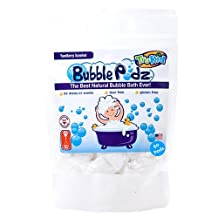 TruKid Bubble Podz Family Pack, Natural Bubble Bath, Yumberry Scent 60ct. Extra gentle for sensitive skin