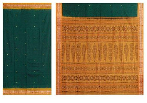 Gorgeous Green Saree - 4