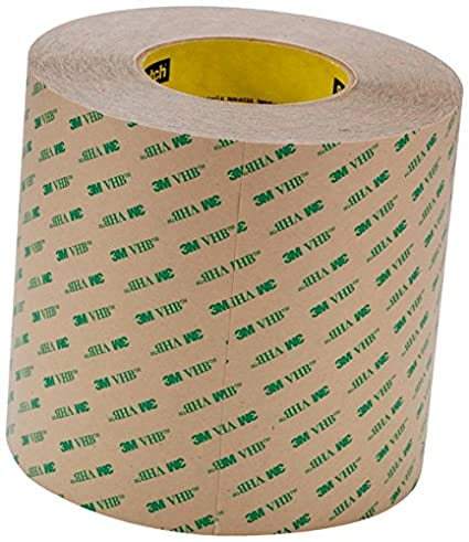 Pack of 1 Clear, Boxes Fast 3M F9460PC VHB Tape 2.0 Mil 1 x 5 yds
