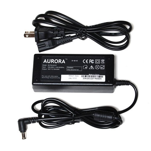 AURORA™ 16V 4A 64W Laptop AC Adapter for Panasonic Toughbook CF Series 01 01x 07 07L 08 08T 105B 17 170 17T 27 270 27E 27F 27R 28 28M 28P 25 25L 25MKII 28S 33 34 35 37 370 37L 37M 37N 37V 380 41 42 45 45D 45E 45F 45K 45M 45N 45R 45U 47 47E 47F 47G 47K 47L 47M 48 48E 48F 48G 48H 48M 48N 48P 48R 48S 48U 48V 48X 61 62 63 71 71D 71E 71G 72 71KI 71MI 72NI 72QI 72TI 72V 72X 10Ft Power Cord / Notebook Battery Charger (27f Battery compare prices)