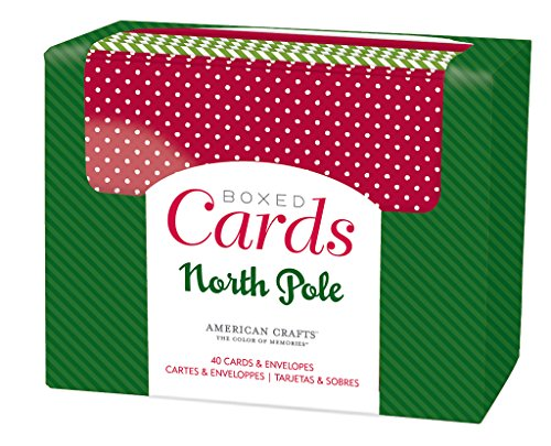 American Crafts Boxed Cards Christmas Cards & Envelopes (40 Pack) (Making Christmas For Kits Card)
