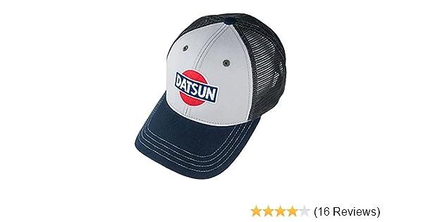 f8f424b4e08153 Amazon.com: Genuine Nissan Datsun Tri-Tone Mesh Back Baseball Cap Hat:  Clothing