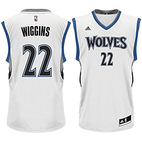 600ae2f9e discount code for andrew wiggins minnesota timberwolves 22 nba youth home jersey  youth small 8 ef5c0