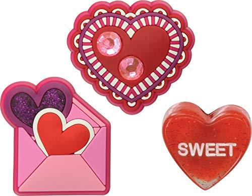 Zapatos De Decoración Valentine Talla Multicolor Única Pack Crocs tqICRwtp