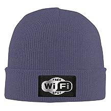 Beanie Cap Free WiFi Spot Sticker Viny Platinum Style