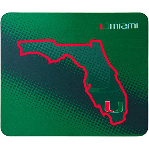One Size Multi Memory Company NCAA Miami Dolphins Col-Mia-2239Mousepad State of Mind Style