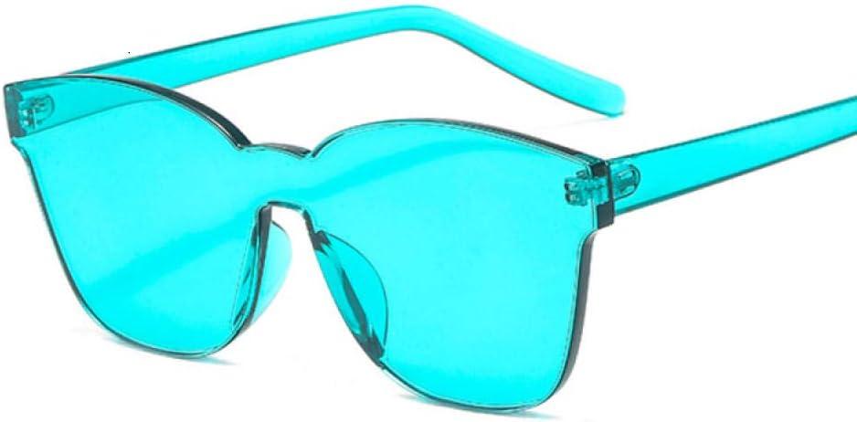 Gafas De Sol Gafas De Sol Cuadradas De Moda para Mujer, Lentes De Colores Vintage para Mujer