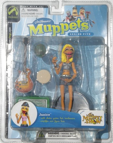 Jim Hensons Muppets Series 5> Janice Variant Silver Top