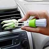 SOURBAN Multifunction Cleaning Brush For Car Indoor Air-condition Car Detailing Care Brush Tool