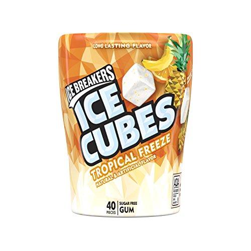 🥇 Ice Breakers Ice Cubes Sugar Free Tropical Gum