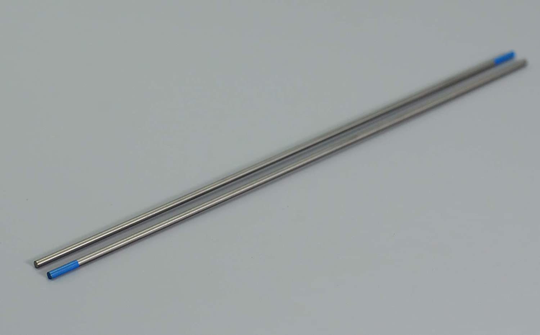 2.0/% Lanthanated WL20 Sky Blue TIG Welding Tungsten Electrode 1//16x6 /& 1.6x150mm 10PK