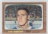 Tim Horton (Hockey Card) 1966-67 Topps - [Base] #80