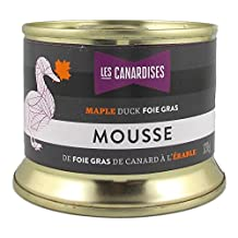 Duck Foie Gras Delight with Maple Syrup - 120 g (Les Canardises, Quebec, Canada)