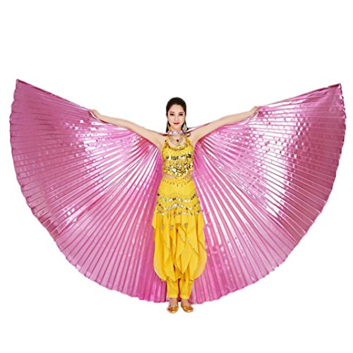 Hot Sale! AMA(TM) Women Girls Egypt Belly Dance Wings Belly Dancing Costumes Accessories (Dance Costumes For Pageants)