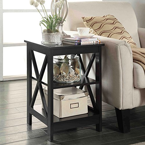 Black End Tables for Living Room Bedroom Dining Room Perfec