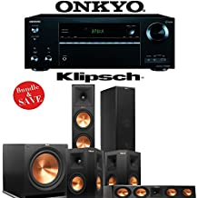 Klipsch RP-280F 5.1 Reference Premiere Home Theater System with Onkyo TX-NR656 7.2-Ch Network A/V Receiver