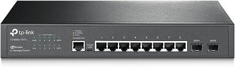 Tp Link Tl Sg3210 Jetstream 8 Port Gigabit L2 Light Computers Accessories