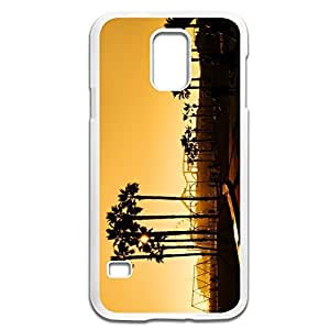 Samsung Galaxy S5 Cases Sunset Design Hard Back Cover Cases Desgined By RRG2G