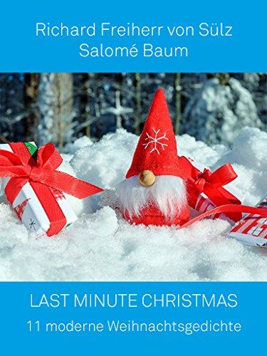 Moderne Weihnachtsgedichte.Last Minute Christmas 11 Moderne Weihnachtsgedichte German Edition