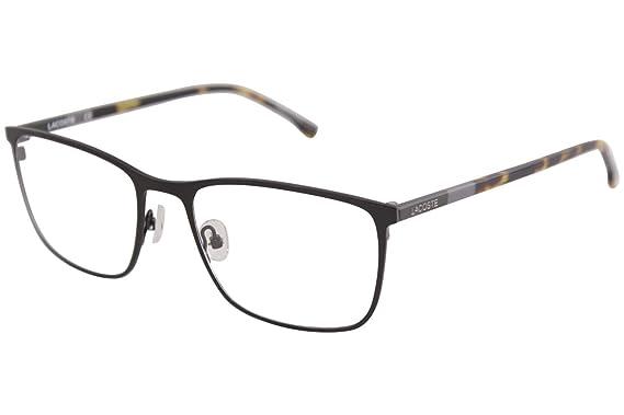 32484dc41140 Eyeglasses LACOSTE L 2247 001 BLACK at Amazon Men s Clothing store