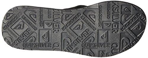 Quiksilver Mens Carver Suede Art 3 Point Sandal Grey/Black/Grey xjUykq
