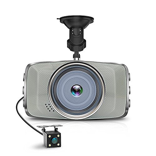 """AIMTOM ND-7 Car DVR 3"""" LCD Screen Dashboard Cam Full HD 1080P Dash Camera with Sony Sensor, 290 Degree Wide Angle, G-Sensor, Night Vision, Motion Detection, WDR, Parking Monitor, Loop Recording"""