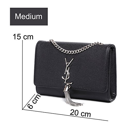 Shoulder Black Room High Quality Big Shoulder Bag Diapers 2018 Bag Shrjj Fashion 6 Women Crossbody Bags 17 Leather Black Capacity 13 Cm wyCq7X1cfx