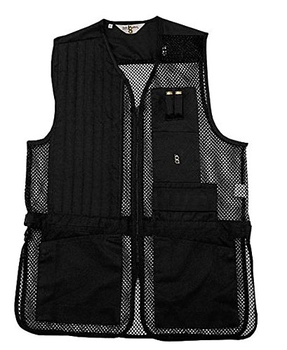 Bob-Allen Shooting Vest, Right Handed, Black, X-Large by Unknown