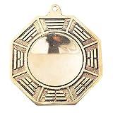 Big Feng Shui Wudang Mountain Brass Bagua Mirror Brass Protection Charm + Gift BAG Y1053