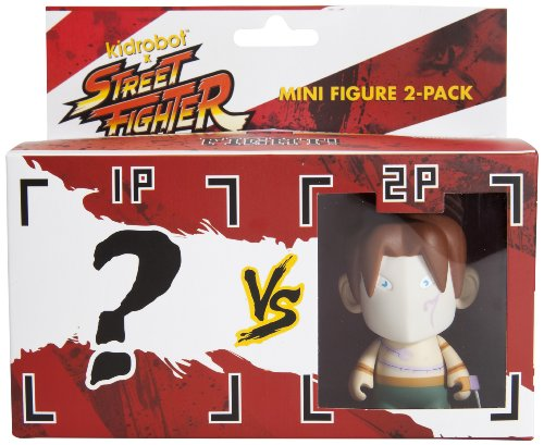 Kidrobot Street Fighter Vega Mini Figure, 2-Pack